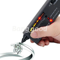 Wholesale V2 Portable Diamond Gemstone Jewelry Tester Selector Tool Accurate And Reliable Reading LED Audio Bag Platform