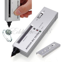 Wholesale Diamond Gemstone Moissanite Jewelry Tester Selector Tool Accurate And Reliable Reading LED Audio Bag Platform