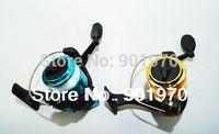 Cheap Free Shipping&Hot sale 10pcs lot spinning fishing reel 5.1:1.plastic spool.