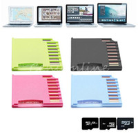 Wholesale High Quality New Colors Up to G MicroSD Micro SD SDHC TF to Mini Drive SD Card Reader Adapter For MacBook Air For Mac Pro order lt no tr
