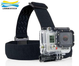 Wholesale Adjustable Head Strap Mount Belt Elastic Headband Best Accessories For GoPro GO PRO HD Hero Camera Free Shippimh