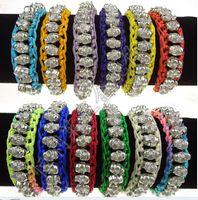 Wholesale Hot Selling Woven Skull Heads Bracelet Bead Jewelry Chain Silver Bracelet Opp Package MIX order