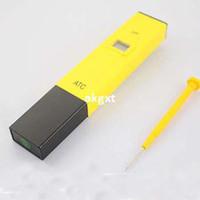 Wholesale Hot Accurate Tester digital pH Meter Tester Pocket pen meter Aquarium Pool water E801