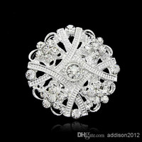 Cheap brooch to wedding dress 2015 Fashion Nice Shinny Brooches Pins For Women party Jewelry Gift Bouquet Brooches For Cheap Wholesale 12P Lot