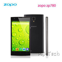 Wholesale ZOPO ZP780 quot Capacitive QHD x540P Touch Screen mtk6582 Quad Core G G Android OTG GPS Cellphone DHL free shiping