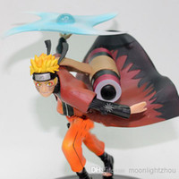Wholesale Naruto A whirlwind model cm fourth generation mesh Uzumaki hokage Wave shui door PVC y01