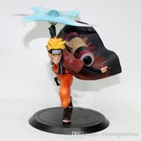 Wholesale Naruto A whirlwind model cm fourth generation mesh Uzumaki hokage Wave shui door PVC y