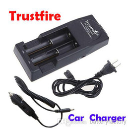 Wholesale High Quality Trust fire Trustfire Battery Charger Mod Charger for AA Rechargeable Battery EU or US Car Charger