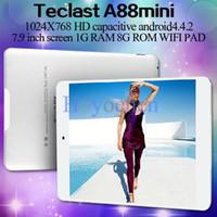 Wholesale Teclast A88 mini quad core Allwinner A31s Tablet PC quot Android HDMI WIFI OTG GB RAM GB ROM