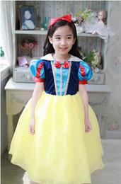 Snow White dress costumes costume Snow White fairy tale princess dress children dress