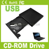 Wholesale External USB Portable laptop x CD ROM Drive Laptop PC Slim