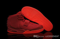 High Quality Red October Glow in Dark Kanye West II 2014 Men...