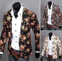 blazer jacket men - men blazer men suit man jacket suits for men blazer slim fit blazer casual men business casual suits Floral color