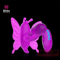butterfly sex toy - Wireless Remote Control strap on Dildo Butterfly vibrator vibrating panties clitoris stimulation sex toys for women sex products adult toy