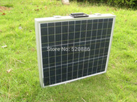 12v solar battery charger - 80W V poly portable Folding solar panel for v battery solar charger battery charger solar power RV camping boat