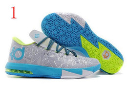 Wholesale Nike Mens Baketball Shoes KD New Arrival KD6 Shoes Famous Player Kevin Durant KD VI ELITE SERIES Men s