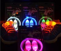 Home LED Shoelace  LED Flash Shoelaces LED Shoelace Light Lace Shoe lace Light Up Shoes lace 7 Colors Skating,Very Cool 6pcs a lot