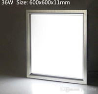 Cheap DHL free shipping 3years warranty SMD5630 Samsung chip square 600x600x11mm 2900lm 36W led panel light ceiling light led light panels