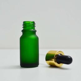 Wholesale Balance Road ml glass bottle green scrubs small dropper bottle of essential oil bottle Essence bottle