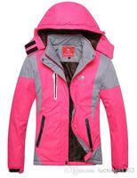 New autumn winter outdoor warm wind rain outerwear women's jacket