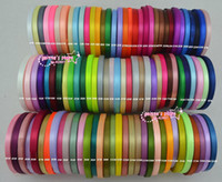 ribbons - quot mm single face satin ribbon yards roll yard colors can option belt gift packing