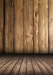 Wholesale Printed photography background fabric wood floor backdrop ft width x ft D