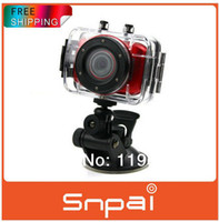 Wholesale 2014 New cheap Waterproof Sport action Camera full hd digital Mini Camcorder Driving Recorder For Bike Diving Surfing Skydiving