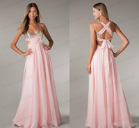cheap long prom dresses - Cheap sexy Long prom dresses Uk Under Sweetheart A Line Sequins Beaded Bust Open Back Side Cut Outs Chiffon Party Dress By Olesa