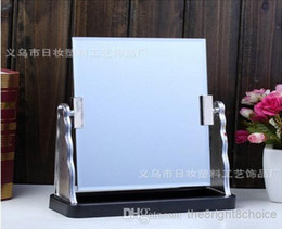 Wholesale European desktop rotate looking glass in fashion the perking high definition square make up Compact mirror