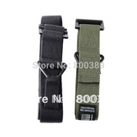 Wholesale Military Free Size Durable Nylon Webbing Trousers Strap Adjustable Belt Black Green HAWK