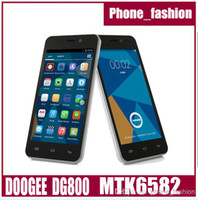 Wholesale 4 DOOGEE Valencia DG800 Mobile Phone Android MTK6582 Quad Core GHz GB GB MP Camera GSM WCDMA Back Touch