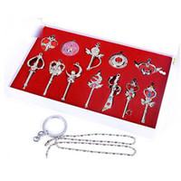 Wholesale - - Anime Cartoon Sailor Moon Pendant Necklace Gol...