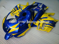 Cheap CBR 600 F2 Fairing 93 94 CBR600 F2 Fairing Kits91-94 Yellow BlueCbr600 DY. Fairings