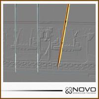 nonwoven fabric - 2000pcs polished nonwoven fabric punching needles R222