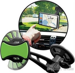 Wholesale Hot Sales GripGo Universal Windshield Sticker Holders Mounts Stander For Car GPS Navigation Mobile Cell Phone Handsfree TV With Packages