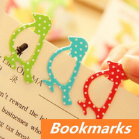 Wholesale 64 in bag cute Animal bookmark for Book Page Holder Novelty book marker stationary office materials School supplies