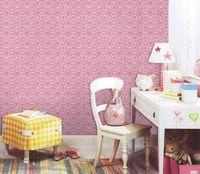 Wholesale Pink Fairy classic pattern WallPaper Furniture Sticker cm Width X Length Metre