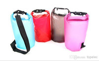 Wholesale 500pcs L L Outdoor Travel Floating Organize Bag Compress Portable Waterproof Pouch Dry Bags Mixed colors