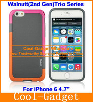Wholesale Walnutt nd Anti Shock Slim Hybrid TPU Gel Case Skin Cover for iPhone G Air Pro G S G S case sp IP6C34