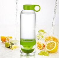 Wholesale Sport Vigor Citrus Lime Lemon Cup Fruit Press Juicer Water Tea Bottle