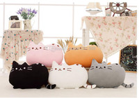 Wholesale 40 cm plush toy stuffed animal doll talking anime toy pusheen cat for girl kid kawaii cute cushion brinquedos