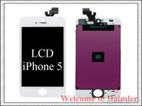 Wholesale High quality For iphone S C G LCD Display With Touch Screen Digitizer Free DHL No Dead Pixels