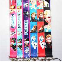 Wholesale Frozen Mobile Phone Lanyard Cell Phone PDA Key ID Straps Keychain Lanyard