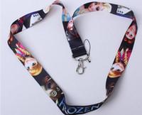 Wholesale Mix Frozen Princess Lanyard MP3 cell phone key chains Neck Straps