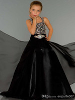 sugar white sugar - Beautiful Pageant Dress Stunning Sugar Long Rhinestone Covered Little Girl Pageant Gown