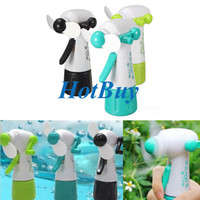 Wholesale No Battery Needed Portable Handheld Mini Fashion Water Spray Cooling Fan Mist Sport Beach Camp Travel Toy