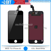 Wholesale Grade A Tianma LCD Display Touch Screen Digitizer Full Assembly for iPhone C S G Complete Screen Replacement