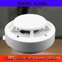 Wholesale 9V battery operated smoke alarm for home usage fire detector alarm LMX SA006