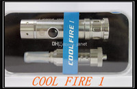 Cheap Newest Innolin Itaste Cool Fire 1 electronic cigarettes with iclear 30s dual coil clearomizer DHL free