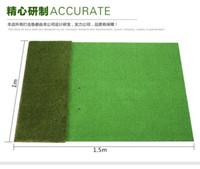 Wholesale Mat indoor golf practice swing pad M driving range dedicated shipping send gloves dupulu